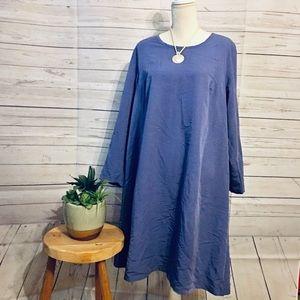Purple Ulla Popkin long sleeve dress size 16/18